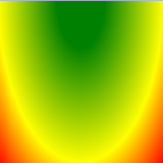 radialerFarbverlauf von oben