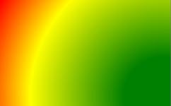 kreisförmiger Farbverlauf
