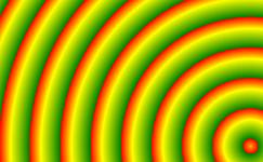 wiederholender Farbverlauf