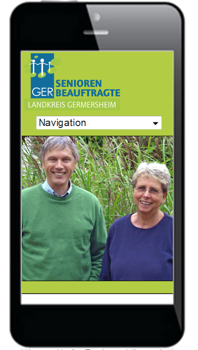 Seniorenteam Smartphoneansicht